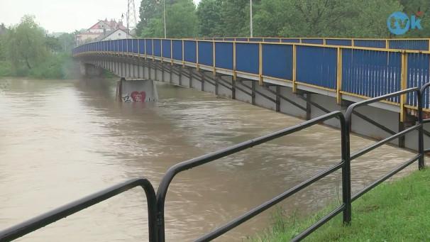 Sytuacja hydrologiczna w Powiecie [ZOBACZ FILM]