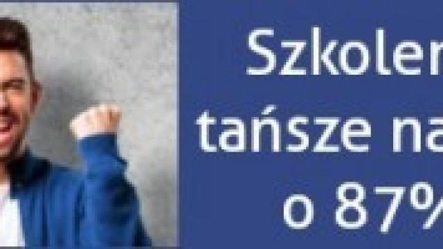 Szansa na nawet 87% tańsze szkolenia językowe