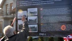 Tablica ku czci cichych ofiar niemieckiego szaleństwa