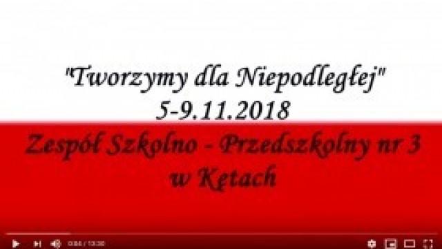 """Tak świętowano 100-lecie niepodległości Polski w kęckiej """"Trójce"""" - zobacz film!"""