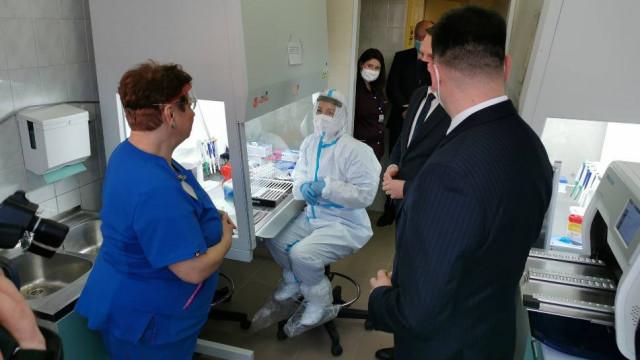 Tańsze testy na koronawirusa w Szpitalu Powiatowym w Chrzanowie