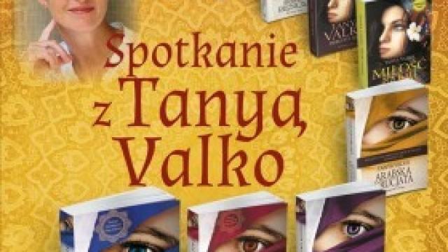 Tanya Valko w bibliotece - zapraszamy!