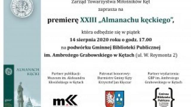"""TMK, Muzeum i Biblioteka zapraszają na premierę nowego """"Almanachu"""""""