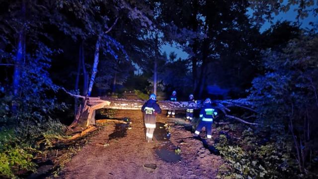 To była niespokojna noc strażaków z gminy Brzeszcze - InfoBrzeszcze.pl