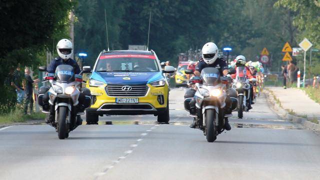 Tour De Pologne przejechał przez nasz powiat. W zabezpieczenie trasy przejazdu zaangażowano jednostki OSP i patrole policji. ZDJĘCIA !