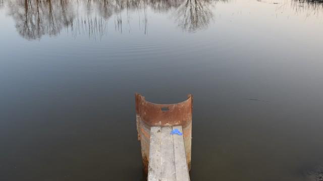 Tragedia w gminie Zator. Mężczyzna utonął w stawie rybnym
