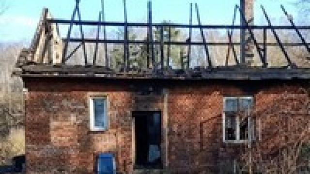 Tragiczny pożar w Grojcu