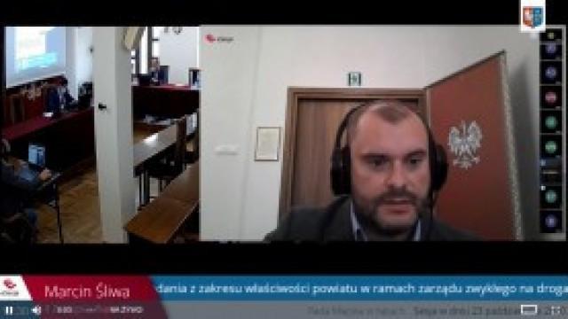 Transmisja z sesji Rady Miejskiej w Kętach - relacja na żywo