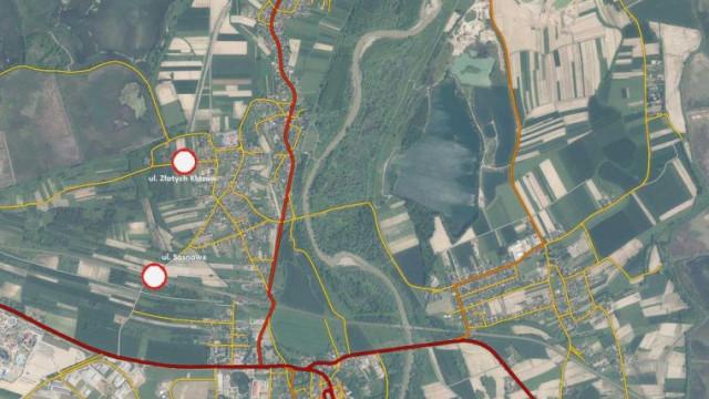 Trwa budowa obwodnicy Podolsza. Utrudnienia potrwają do października