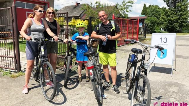 Trwa rajd rowerowy w gminie Oświęcim – LIVE