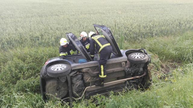 Trzy samochody brały udział w wypadku w Skidziniu. ZDJĘCIA !