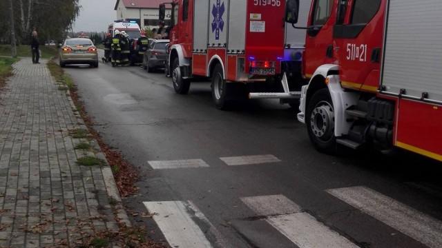 Trzy samochody zderzyły się wczoraj w Jawiszowicach. ZDJĘCIA !