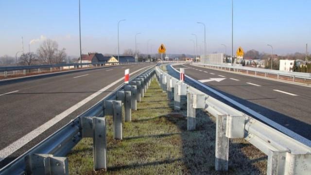TYCHY. Na modernizowanej drodze nr 44 otwarto wiadukt