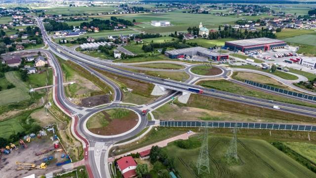 TYCHY. Nowy węzeł na DK44 już otwarty