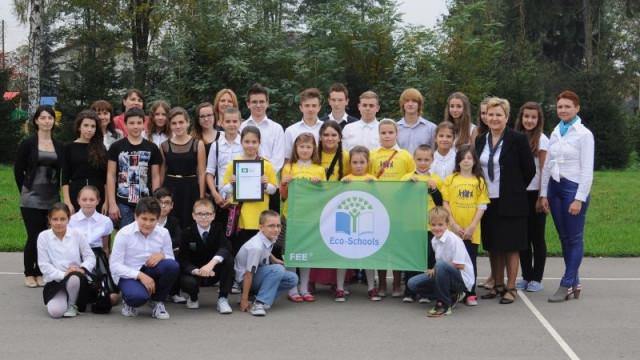 Uczniowie z Przeciszowa aktywni ekologicznie