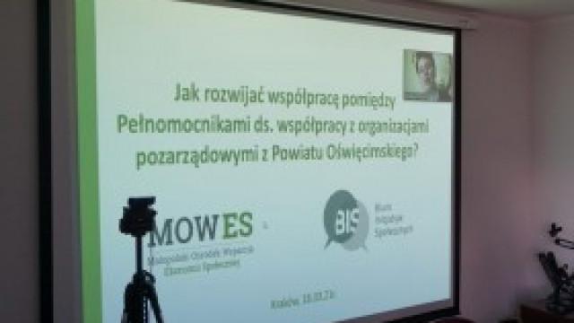 Udział Gminy Kęty w pierwszym w Małopolsce forum pełnomocników ds. współpracy z organizacjami pozarządowymi