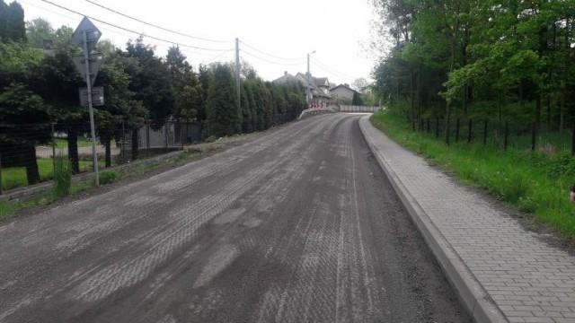 Ulica Jagiellończyka w Grojcu zamknięta