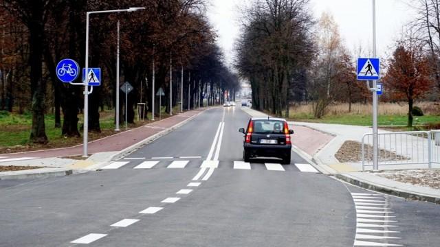 Ulica Olszewskiego już po remoncie