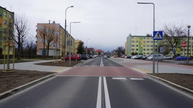 Ulica Orłowskiego gotowa do użytku – FOTO