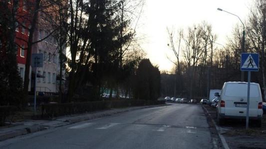 Ulica Szpitalna w Oświęcimiu nieprzejezdna
