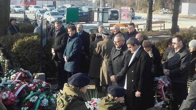 Upamiętnili 74. rocznicę 'Marszu Śmierci' - InfoBrzeszcze.pl