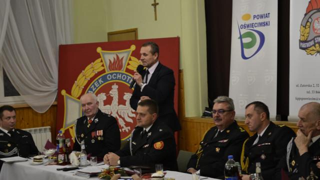 Uroczyste Posiedzenie Zarządu Oddziału Powiatowego ZOSP RP w Oświęcimiu. FOTO!