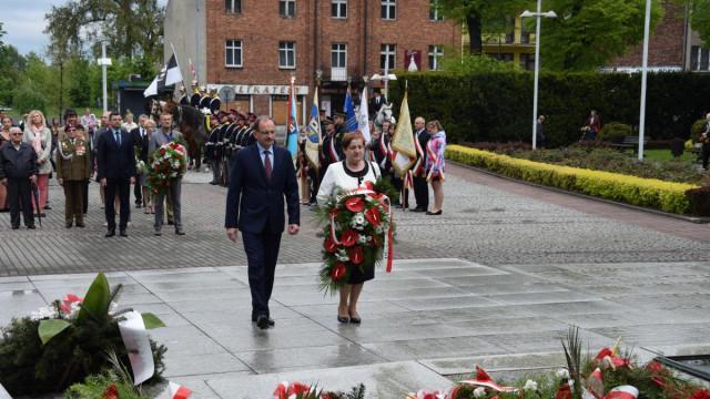 Uroczystości zakończenia II wojny światowej