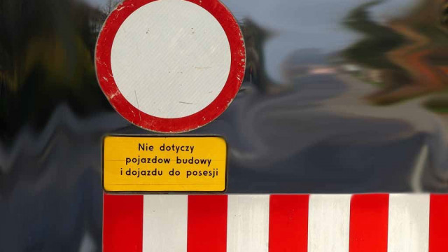 Utrudnienia drogowe w Przeciszowie