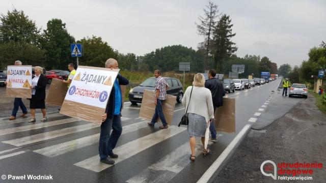 Utrudnienia na drodze w Grojcu – FILM