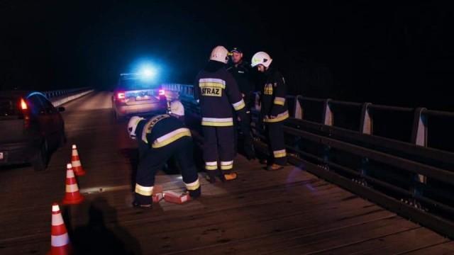 """Utrudnienia na moście ,,Bronisław"""" – ZDJĘCIA!"""