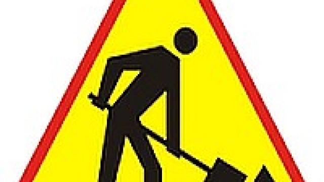 Utrudnienia w ruchu drogowym w związku z pracami przy budowie kanalizacji