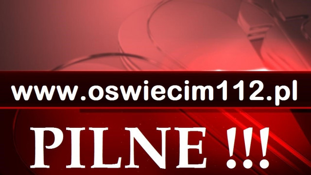 UWAGA ! Wypadek na DW948 Kęty-Nowa Wieś.