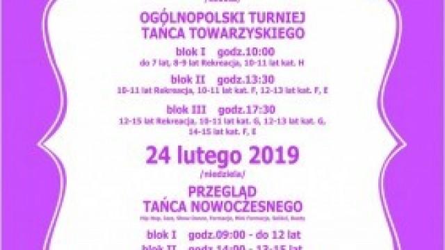 VI Beskidzki Festiwal Tańca - zmiana godziny startowej