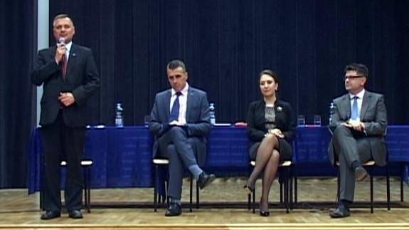VIDEO-GROJEC. Gminna Debata na wójta gminy Oświęcim