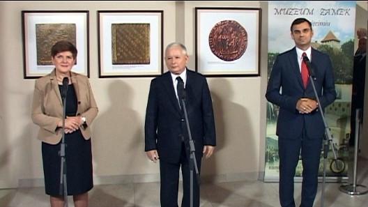 VIDEO-OŚWIĘCIM. Kaczyński o Chwierucie