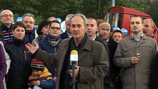 VIDEO-OŚWIĘCIM. Mirosław Wasztyl prezentuje swój komitet wyborczy