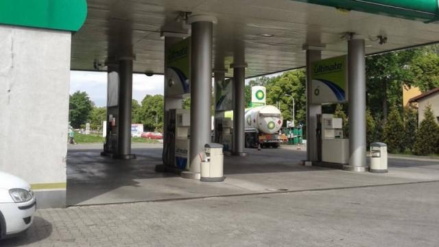 W Chełmku mężczyzna chciał podpalić stację benzynową !