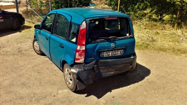 W Oświęcimiu ciężarówka najechała na tył samochodu osobowego. ZDJĘCIA !