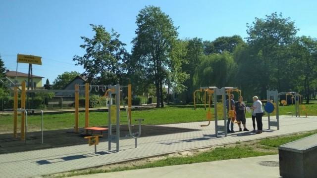 W Parku Miejskim można już ćwiczyć - InfoBrzeszcze.pl