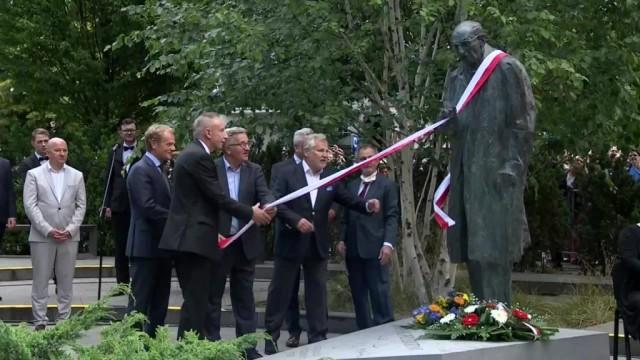 W Sopocie odsłonięto pomnik Władysława Bartoszewskiego – FILM