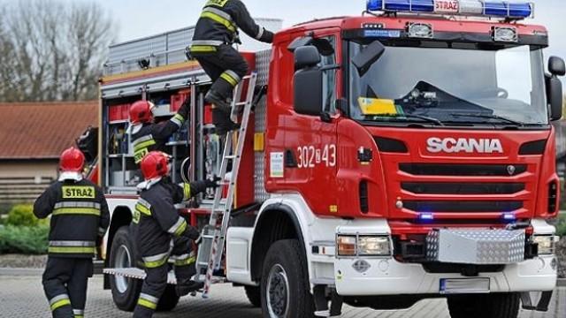 Walczył z pożarem do przyjazdu Straży Pożarnej- mężczyzna uratował swój zakład pracy - InfoBrzeszcze.pl