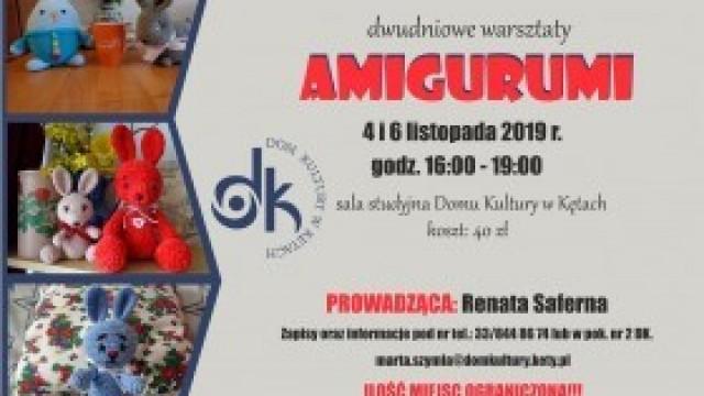 Warsztaty AMIGURUMI - zachęcamy do udziału!