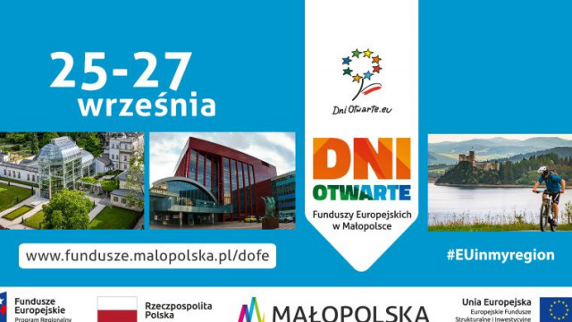 Weekend w Małopolsce z funduszami europejskimi