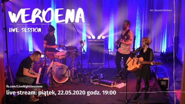 Weroena zagra podczas Live Night Session – FILM