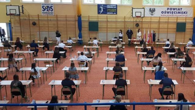 Większość pozytywnie przeszła przez egzamin dojrzałości