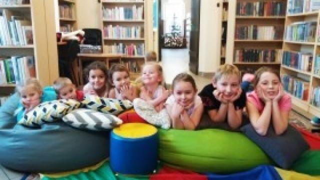 Wiele się działo na feriach w bibliotece! Przeczytajcie!