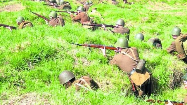 Wielka inscenizacja bitwy pod Wyrami podczas kampanii wrześniowej 1939 roku
