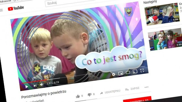 Wielkie sprawy słowami małych mieszkańców. Przedszkolaki opowiadają o smogu... - InfoBrzeszcze.pl
