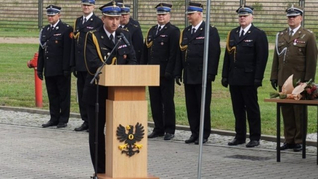 Wieloletni komendant powiatowy PSP w Oświęcimiu szefem małopolskich strażaków