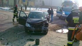 Witkowice: Wypadek w pobliżu szkoły